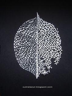 Paper cut leaf  stunning!