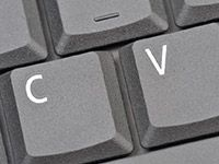 CV Stands For Curriculum Vitae Stock Photo - Image of enter, button: 7536110 Technology Logo, Digital Technology, Cv Advice, List Of Resources, Marketing Tools, Curriculum, Keyboard, Gap, Stock Photos