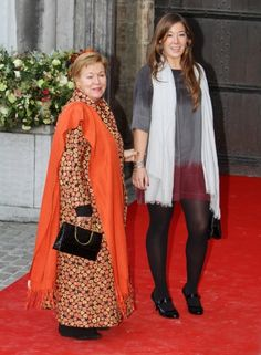 Princess Christina and her daughter Juliana Guillermo.  Princess Christina is Queen Beatrix's youngest sister.