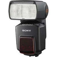 """Sony HVL-F58AM High-Power Digital Camera Flash with Wireless Ratio Control and Quick Shift Bounce for Sony Alpha Digital SLR by Sony. $449.00. The Sony HVL-F58AM Flash Unit delivers flexible lighting control for α (alpha) DSLR photographers. The innovative new """"Quick Shift Bounce"""" system allows the flash to pivot 90 degrees left and right to maintain a proper lighting position, even when shooting vertically. The HVL-F58AM can also wirelessly control up to th..."""