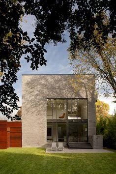 Hampden Lane House / Robert Gurney Architect - Location: Bethesda, Maryland, USA