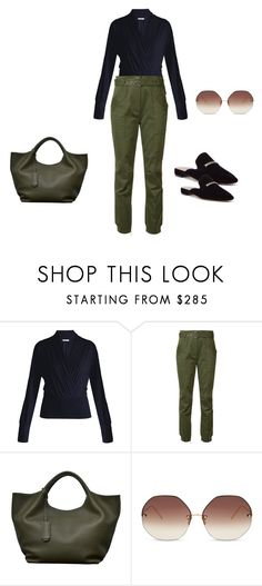 """untitled"" by fab2fab ❤ liked on Polyvore featuring MaxMara, Grey by Jason Wu, KRISVANASSCHE and Linda Farrow"