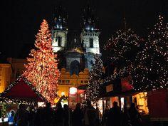 Xmas market in Prague