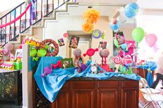 Candyland party - lots of photos