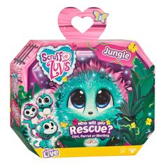 Scruff-a-LuvsJungle Rescue Pet (Styles Vary) | The Entertainer