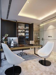 Swiss Bureau Interior Design - Designed - Dinor Real Estate - Dubai, UAE