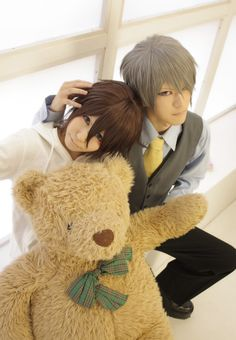 Junjou romantica cosplay- Akihiko Usami & Takahashi Misaki