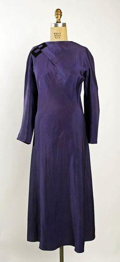 Dress    Madeleine Vionnet, 1930    The Metropolitan Museum of Art