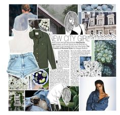"""""""collab with vanessa"""" by lovers-of-one-direction ❤ liked on Polyvore featuring Uttermost, Forever 21, ferm LIVING and without1D"""