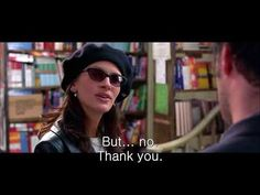 Learn English with Movies - Notting Hill - The one down your trousers. What Does It Say, What Is Your Name, Learn English Speaking, Teaching English, First Down, What Book, Julia Roberts, Bad News, English Language