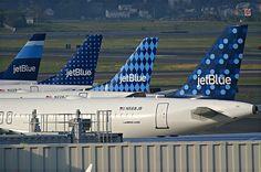 Jet Blue Tails