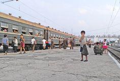 North Korea child labor - A boy begs at Hamhung Railway Station, in North Korea