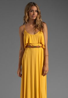 Noomi Maxi Dress in Soleil - Lyst