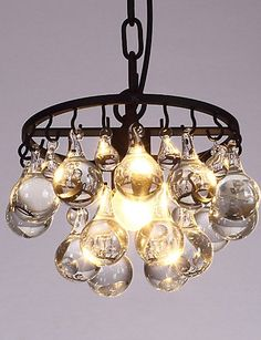 Traditional Ornate Vintage Style Shabby Chic ?Creative Single Head Amercian Vintage Countryside Crystal Chandelier Lamp for the Decorate Indoor Pendant Light , 110-120v