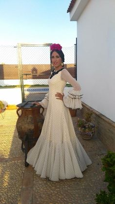 Western Dresses, Western Outfits, Bridal Dresses, Prom Dresses, Summer Dresses, Flamenco Costume, Half Saree Lehenga, Spanish Dress, Indian Gowns