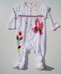Pyjama CATIMINI Blanc, blanc cassé, écru