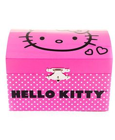 Hello Kitty Musical Dome Jewelry Box - Kids - Macy's