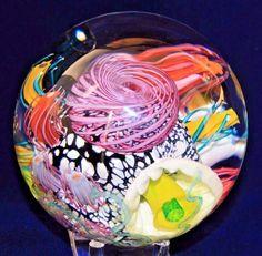 Magnum MARK ECKSTRAND Underwater AQUARIUM Reef ART Glass PAPERWEIGHT | Pottery & Glass, Glass, Art Glass | eBay!