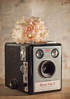 Kodak Brownie Flash III #vintage #camera