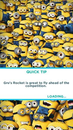 MINION RUSH THE GAME !!!!!!! Its addicting   :)