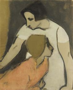 """womeninarthistory: """" The Alarm, Helene Schjerfbeck """" Helene Schjerfbeck (Fi. The Alarm cm Helene Schjerfbeck, Figure Painting, Painting & Drawing, Female Painters, Abstract Images, Claude Monet, Figurative Art, Love Art, Painting Inspiration"""