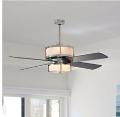 Iu0027d Love This In The Family Room, Low Watt Uppers For That Romantic ·  Living Room Ceiling FanBedroom ...