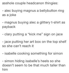 I get the feeling that putting a kick me sign on jace would be more harmful to the people who try it. Immortal Instruments, Mortal Instruments Books, Shadowhunters The Mortal Instruments, Book Tv, Book Nerd, Book Series, Malec, Clace Fanart, Fandoms Unite