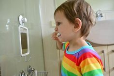 """""""How we Montessori"""" - bathroom tips for toddlers"""