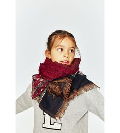 ZARA - NIÑOS - PAÑUELO JACQUARD Kids Fashion, Fashion Tips, Fashion Design, Fashion Trends, Girls Accessories, Accessories Online, Zara United States, Kind Mode, My Wardrobe