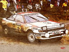 WRC Celica ST165