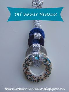 diy washer necklace tutorial with photos