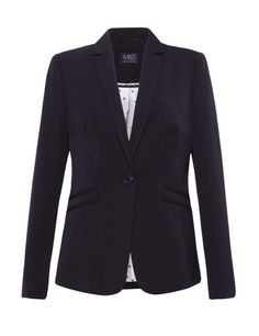 Notch Lapel Double Welt Pockets Jacket | M&S