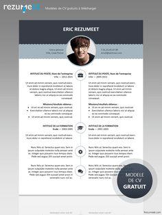 Esquilino - Modèle gratuit de CV à télécharger