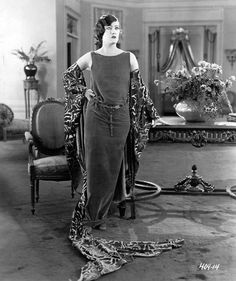 "1922 publicity shot of Gloria Swanson in ""Her Husband's Trademark""."