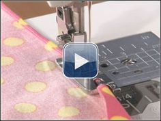 tutorial - using narrow hem foot Sewing Class, Sewing Tools, Sewing Hacks, Sewing Tutorials, Sewing Projects, Sewing Patterns, Techniques Couture, Sewing Techniques, Quilting For Beginners