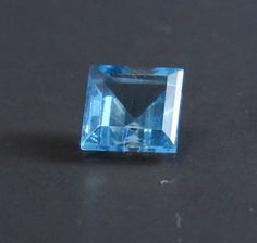 London Blue Topaz Princess Cut