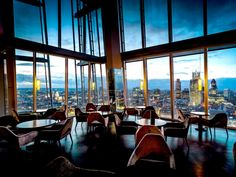 Get a drink at Aqua or Gong, located inside the Shard, the tallest building in London, and enjoy incredible views of the British capital city.