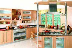 Membrane fusion  modular Kitchen from nano Kitchen and Interiors :Ph:9349101300
