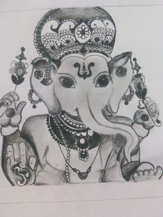 Beautiful ganapati made by my friend! http://a.pgtb.me/7HnK22/gwvKc  Like her here...! Its for a competition!!!