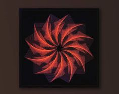This one made in Fine String Art Technique is MYSTICAL! I made this Large Zen Wall Art after a CUSTOM ORDER request. It is not only the SPECIAL EFFECT at night - UV Art, it is the complete impression. The Silent power of SACRED GEOMETRY. It is already framed. The perfect Wall Art for your Office, HOME but also for trendy BARs, CLUBs, COFFEEHOUSEs, RESTAURANTs, MEDITATION and SPA centers...(I shipp everywhere):  ∞∞∞∞∞∞∞∞∞∞∞∞∞∞∞∞∞∞∞∞∞∞∞∞∞∞∞∞∞∞∞∞∞∞∞∞∞∞∞∞∞∞∞∞∞∞∞∞∞∞ If you want a bigger size…