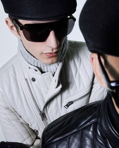 The Razor Sunglasses - a futuristic, shield style sunglasses. #TOMFORD #TFEYEWEAR