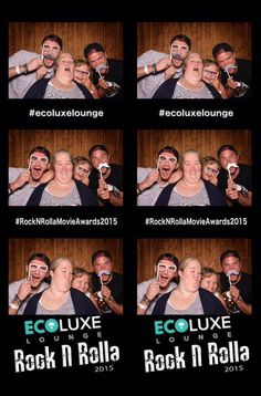 Mama June & HoneyBooBoo goofing off in the Party Photo Booth! LOL