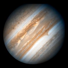 Hubble Space Telescope took this true-color view of Jupiter in support of the…