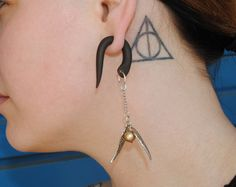 Hey, I found this really awesome Etsy listing at https://www.etsy.com/listing/232945482/golden-snitch-harry-potter-inspired