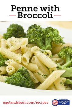 Broccoli adds just the right flavor to complement the cheese. #EgglandsBest #Pasta #Veggies #Recipe