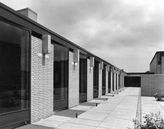 St Catherine's College, Oxford UK (1963-64) | Arne Jacobsen | Image : Bill…