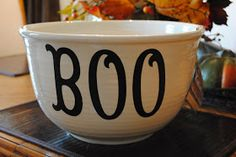 My Pearfect Life: My Halloween Bowl