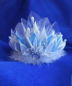 Купить Короны новогодние для Снегурочки, Снежинок и Снежной королоевы - серебряный, корона для фотосессии, корона для снежинки