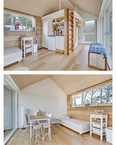 24m2 (258sq ft) tiny house in #Jutland #Denmark by Simon Steffensen #interiors #interiordesign #architecture #decoration #interior #home #design #camper #bookofcabins #homedecor #decoration #decor #prefab #diy #lifestyle #compactliving #fineinteriors #cabin #shed #tinyhomes #tinyhouse #cabinfever #inspiration #tinyhousemovement #airstream #treehouse #cabinlife #cottage