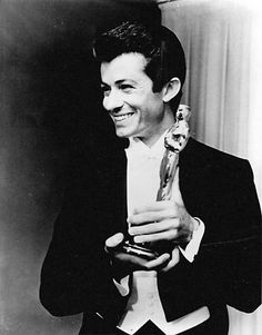 George Chakiris won the Academy Award for Best Supporting Actor for the film West Side Story in Academy Award Winners, Oscar Winners, Academy Awards, Hollywood Men, Vintage Hollywood, Classic Hollywood, Old Film Stars, Movie Stars, Santa Monica